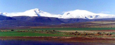 Matroosberg with snow
